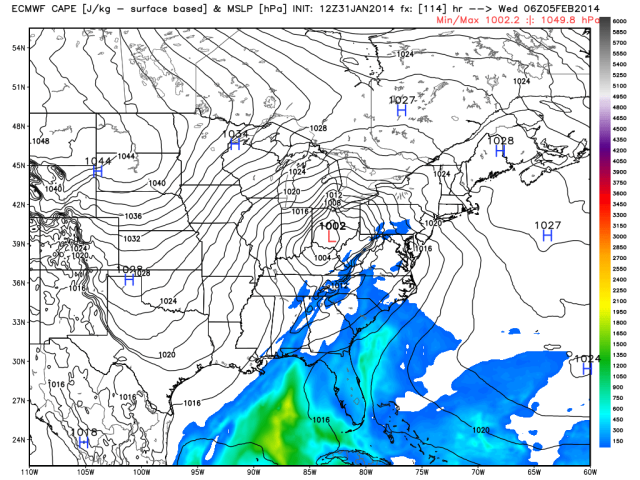 ecmwf_cape_slp_east_20cape 8am